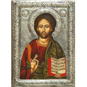 Jesus Christ (painted with metal